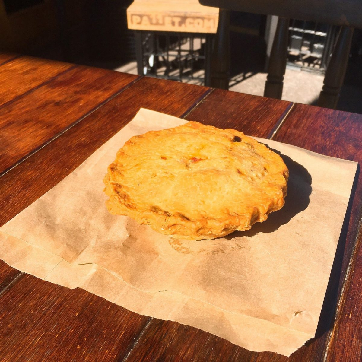 A vegan version of the traditional Australian meat pie