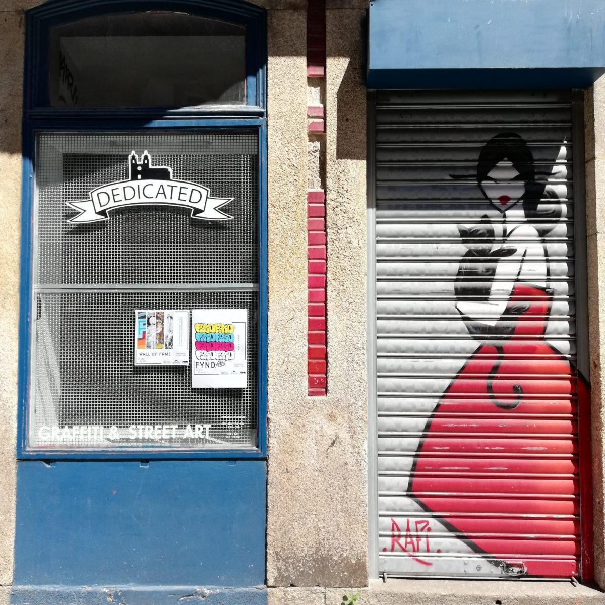Dedicated Store - graffiti and street art store in Porto