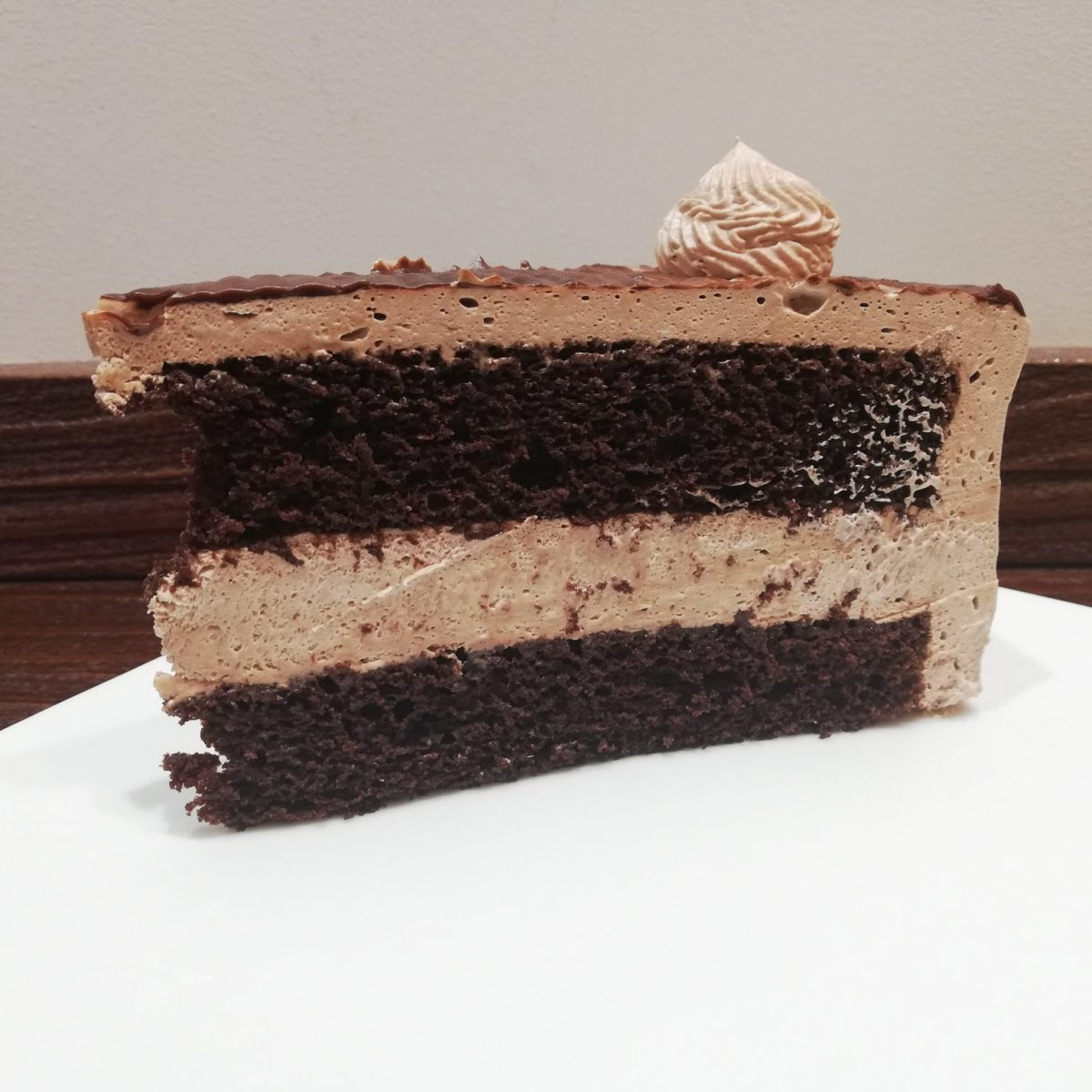 Vegan cake at Freedom Cakes in Madrid