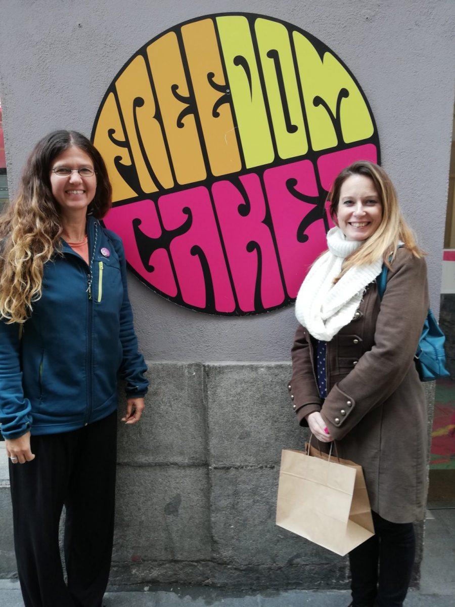 Madrid Vegan Tours - vegan tapas tour at Freedom Cakes