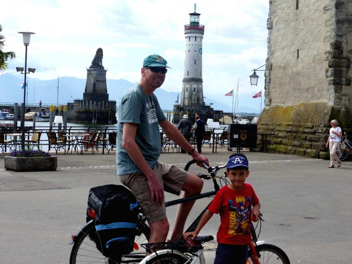 Lindau cycling - Lake Constance things to do