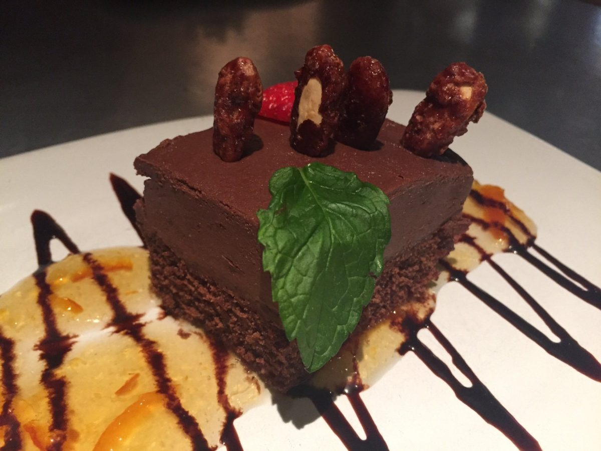 The incredible guilt-free choco cake at Teresa Carles