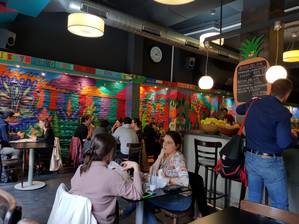 Veggie Garden - a fully vegan restaurant in Barcelona
