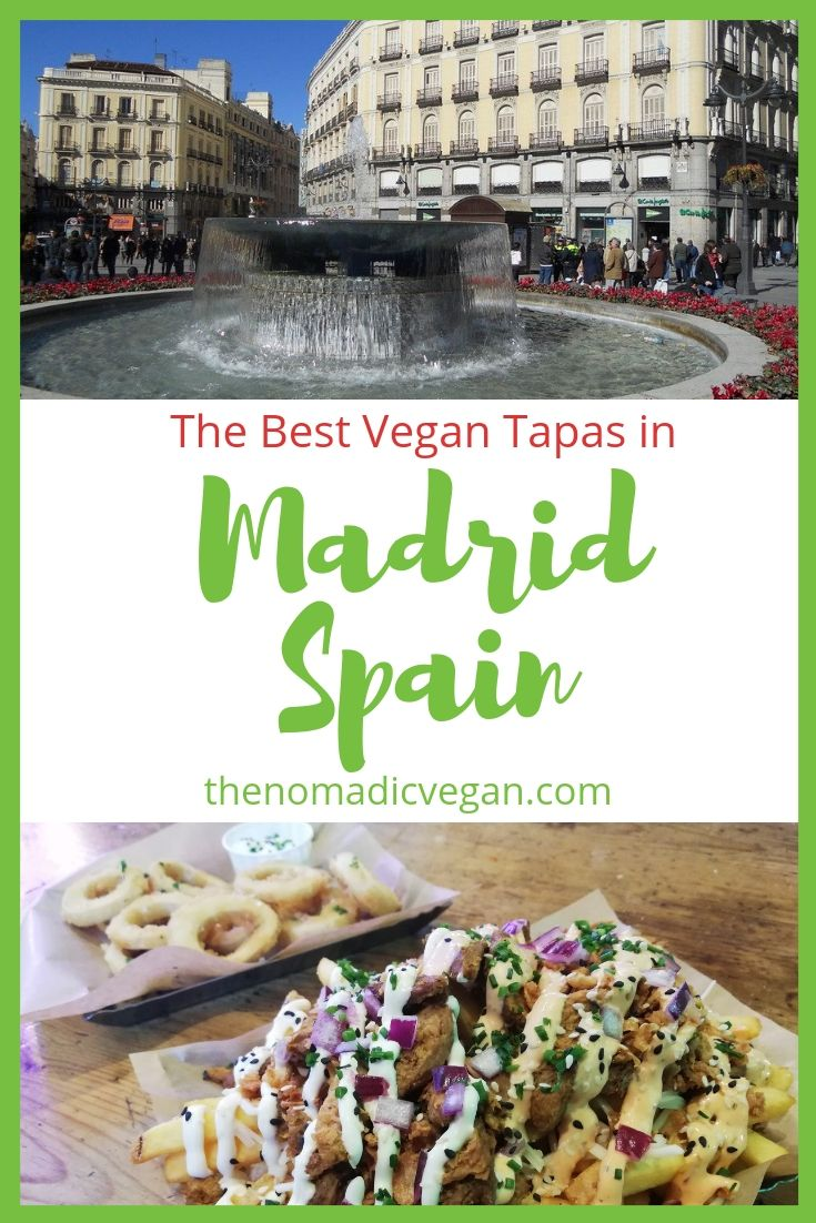 Where to Find the Best Madrid Vegan Tapas