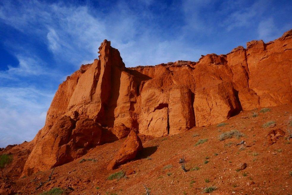 Bayan Zag Flaming Cliffs Mongolia