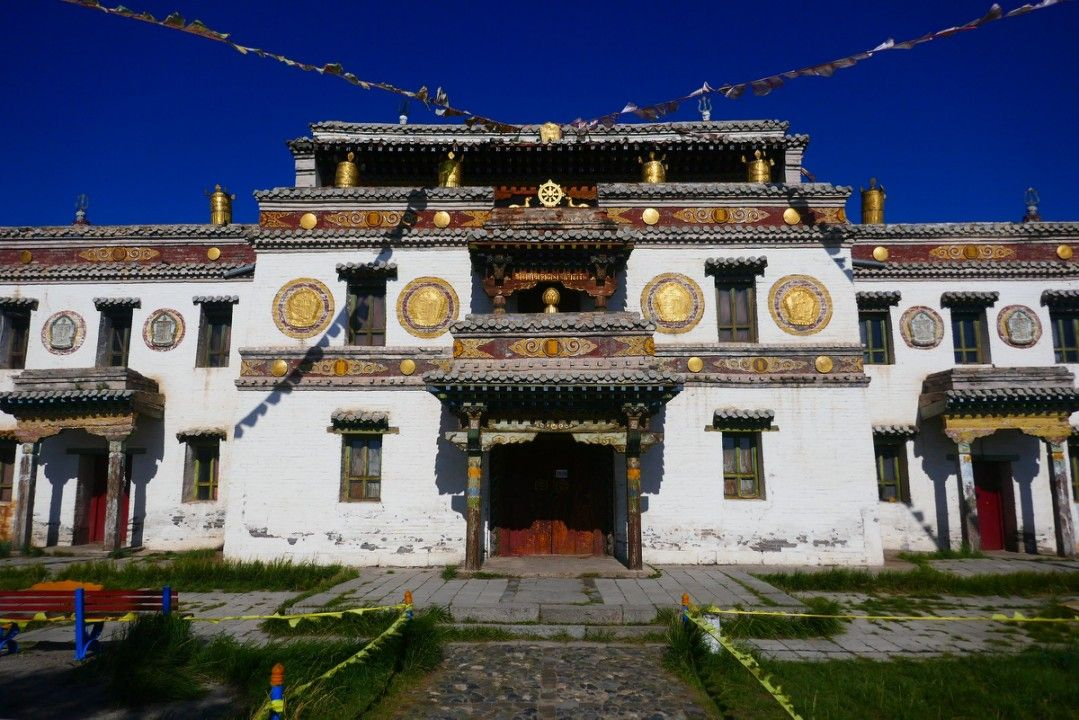 Lavrin Sum temple in Erdene Zuu monastery Mongolia