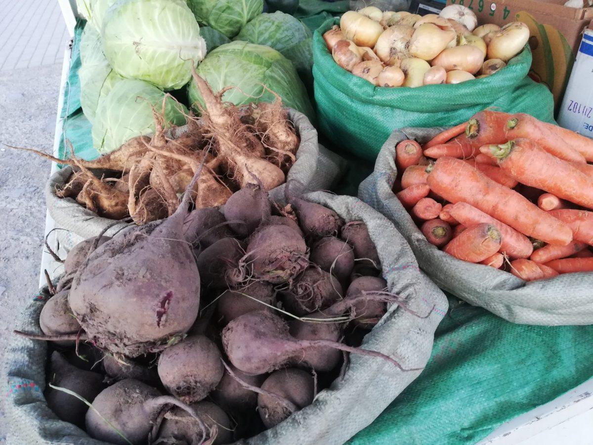 vegetables in Mongolia
