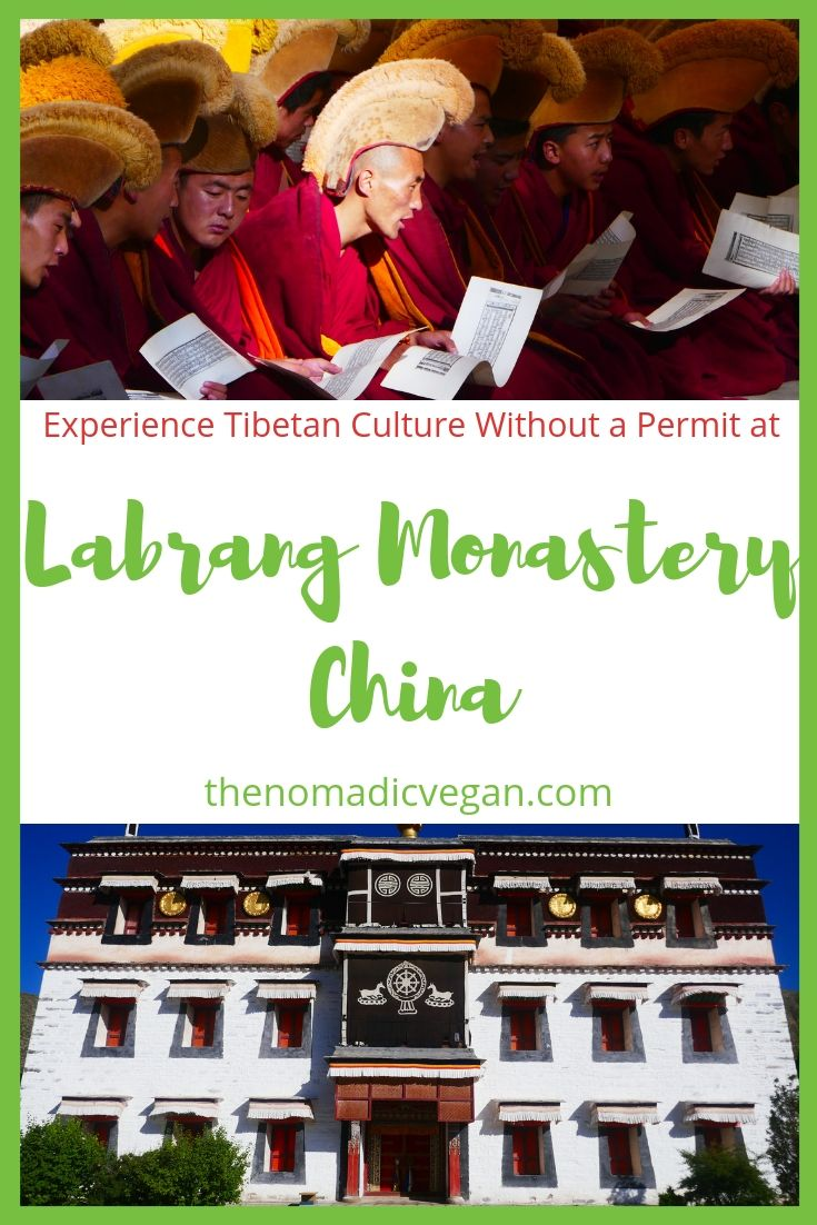 Labrang Monastery in Gansu China - Tibet Without a Permit