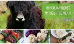 Mongolian Dishes Without the Meat