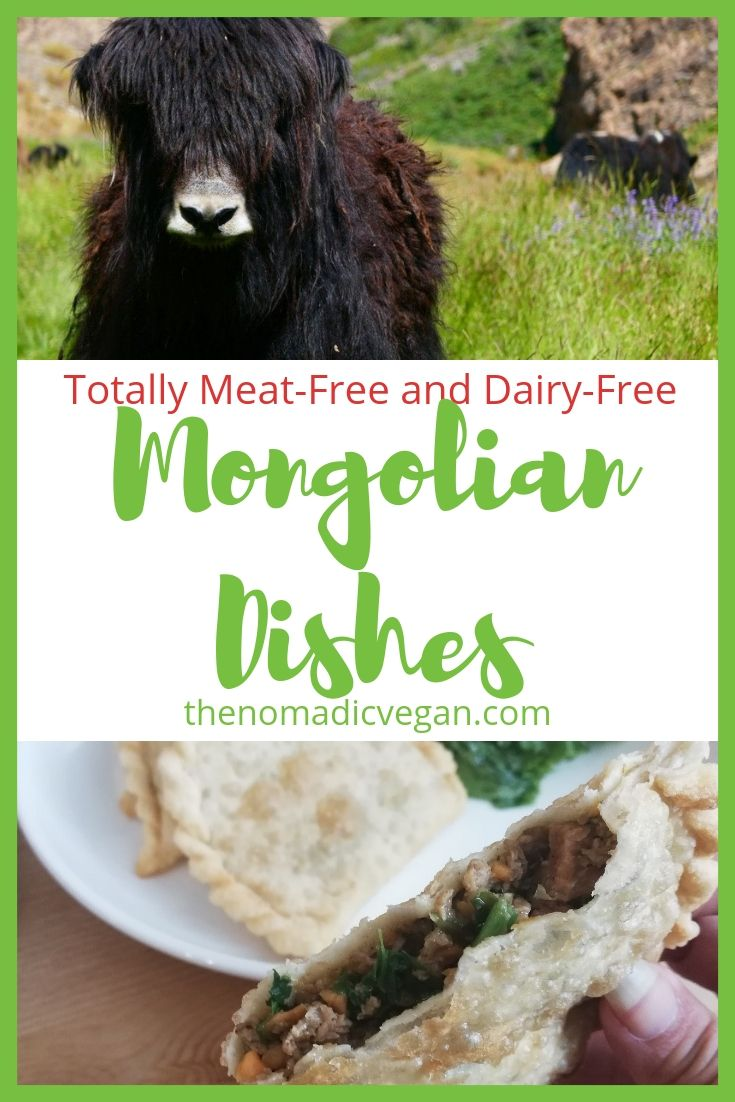 Totally Meat-Free and Dairy-Free Mongolian Dishes