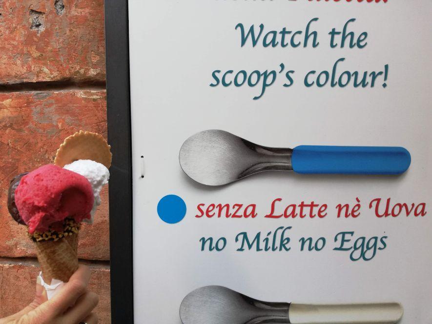vegan gelato Rome