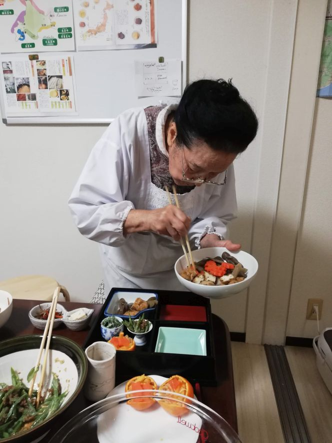 Food presentation in Japan