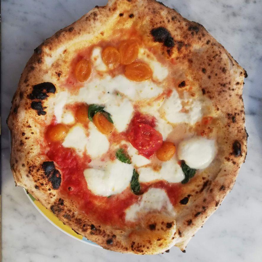 Rossopomodoro vegan pizza Rome