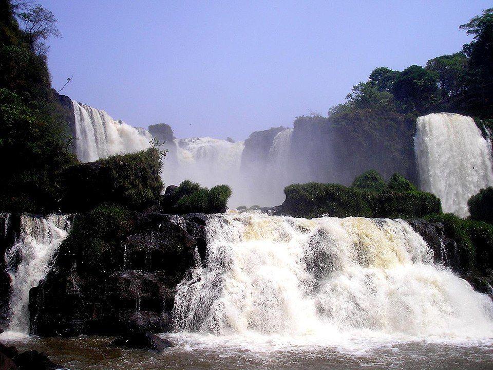 Iguazu falls Paraguay - Monday Falls