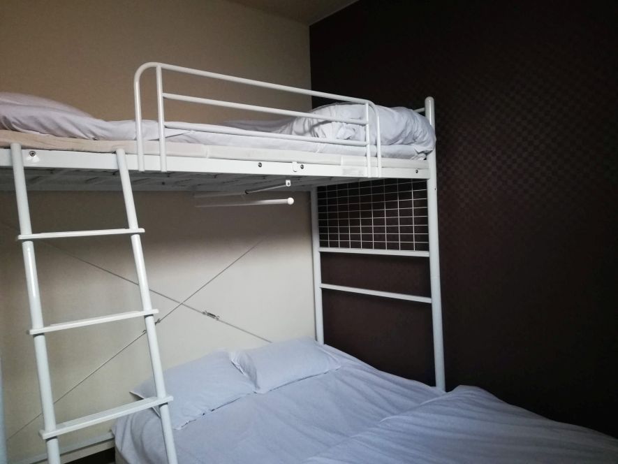 double room in a hostel