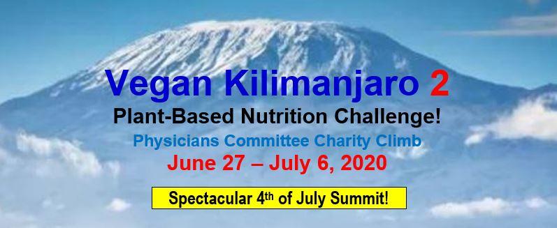 Vegan Kilimanjaro