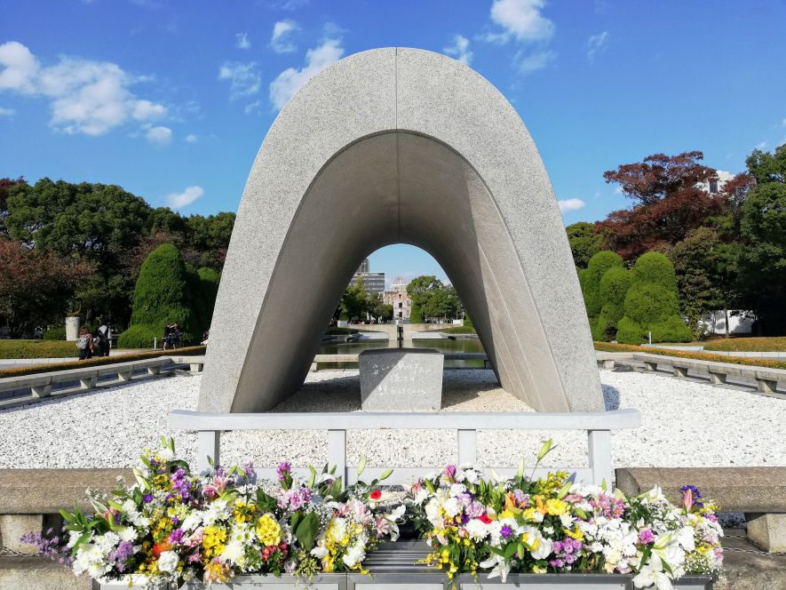 Hiroshima Cenotaph for A-Bomb Victims