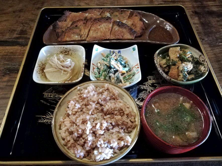 vegan restaurant Kyoto - itadaki zen