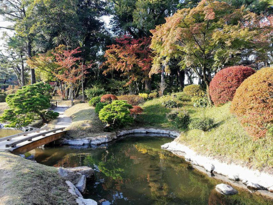 The beautiful Shukkei-en Gardens