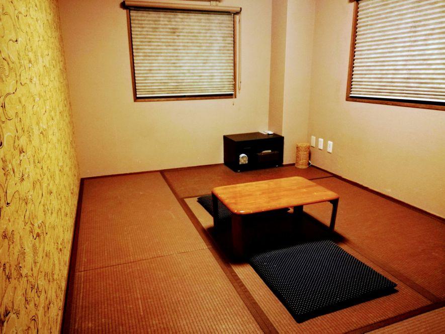 Japanese tatami mat room