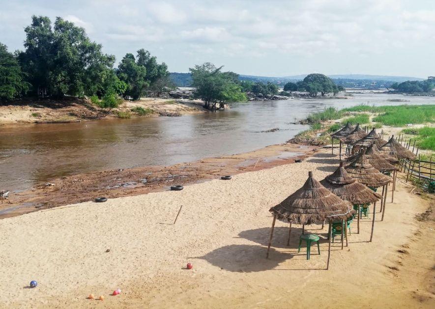 Bantu Beach on the Djoué River