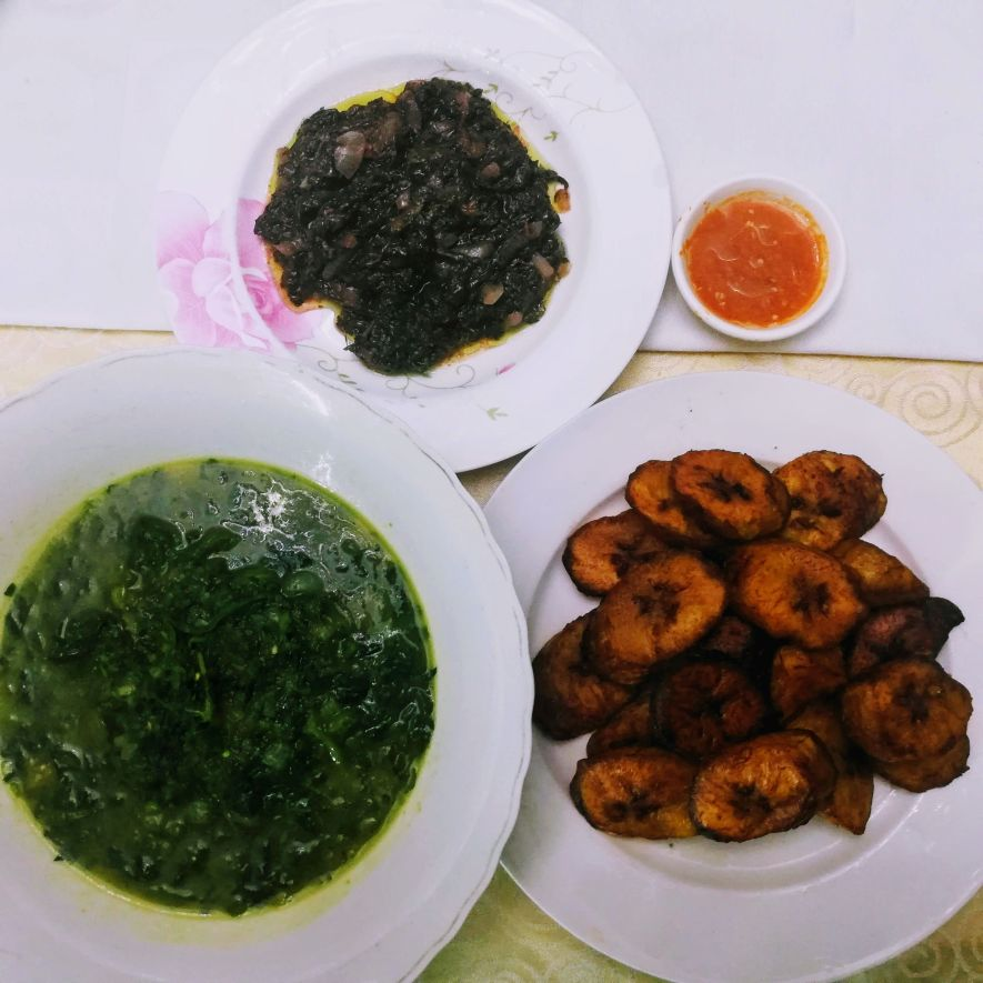 Dinner at Résidence Hôtelière de Moungali