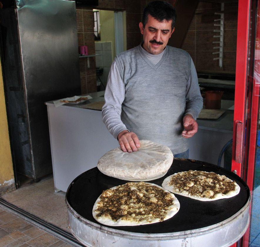 Manaeesh in Lebanon