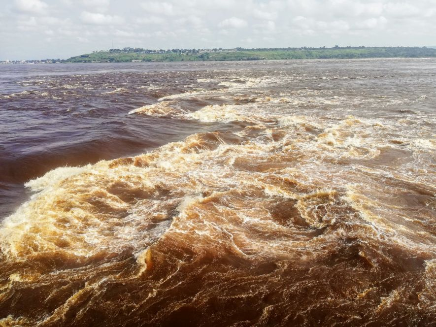 The Rapids of the Congo River