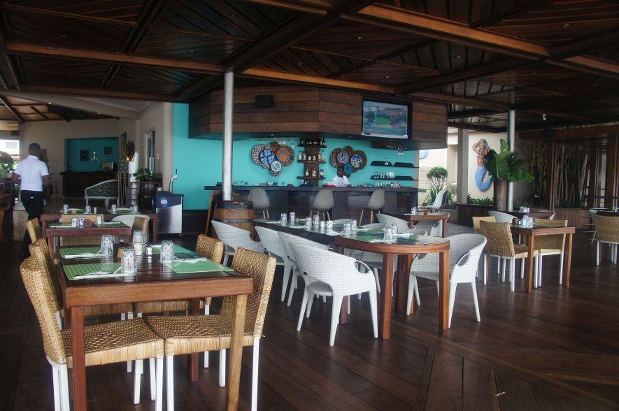 Mami Wata restaurant in Brazzaville