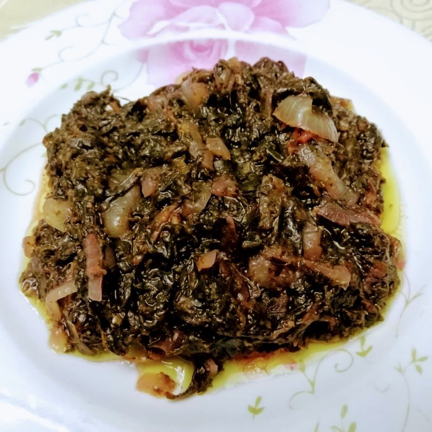 Oseille - Congolese dish