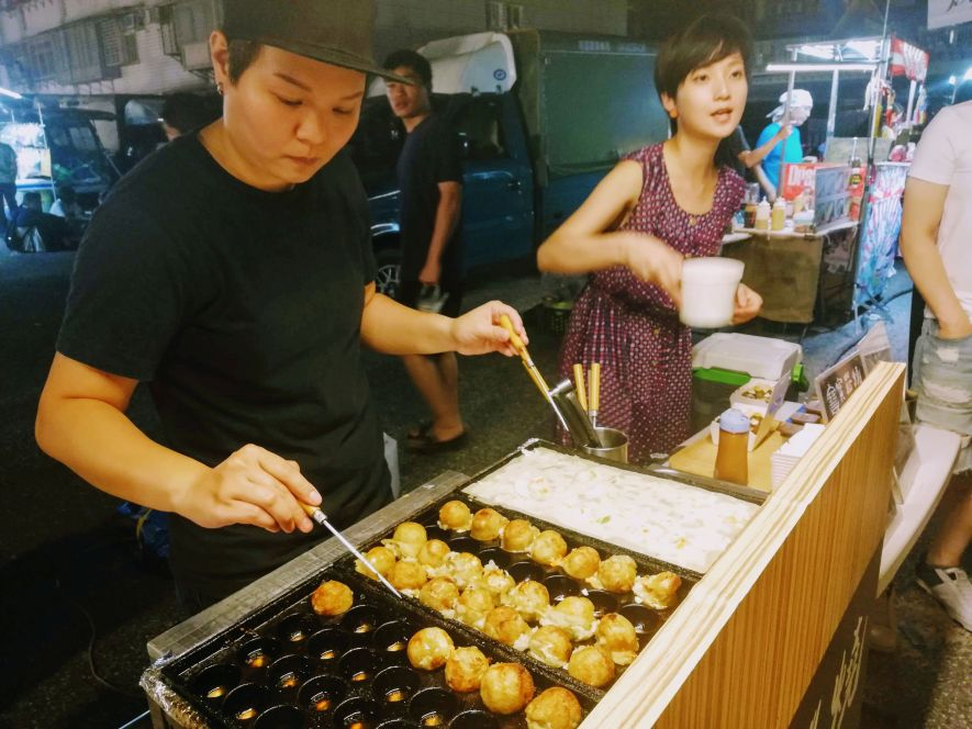 Taiwan vegetarian night market
