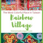 Rainbow Village in Taichung, Taiwan