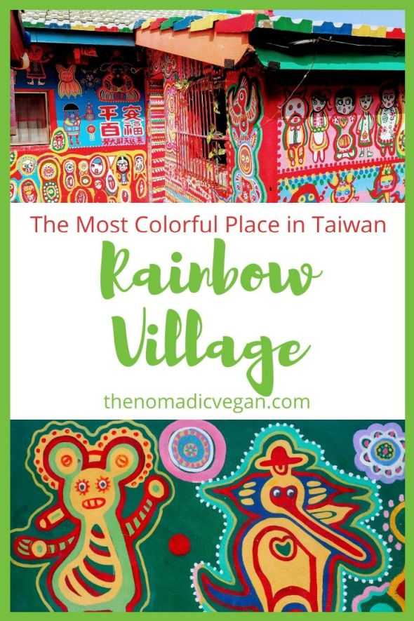 Rainbow Village in Taichung, Taiwan