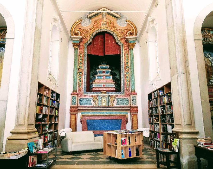 bookstore in a church