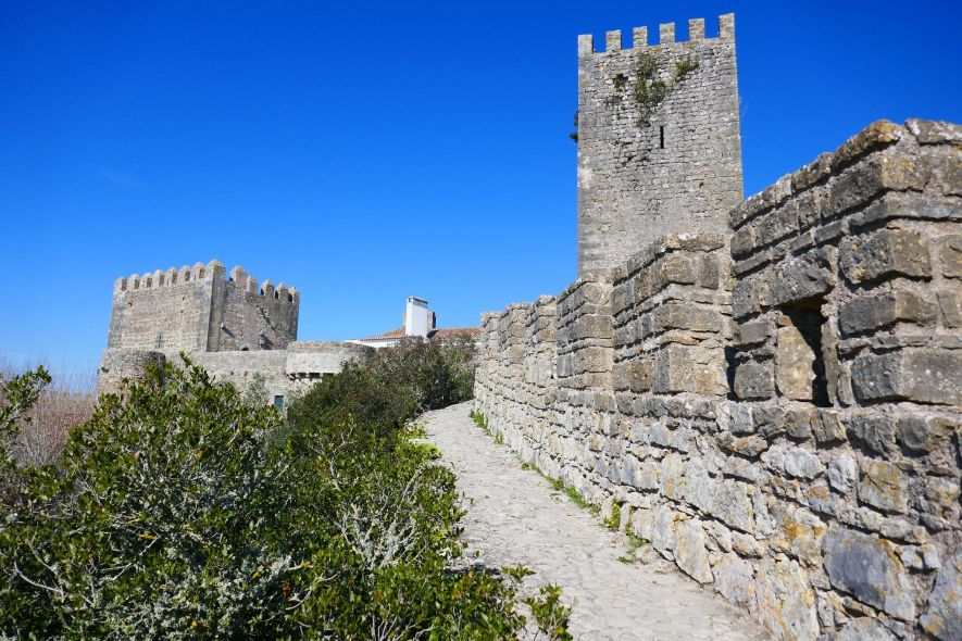 Castle walls of Óbidos