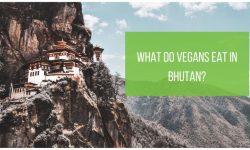 Bhutan vegetarian and vegan food
