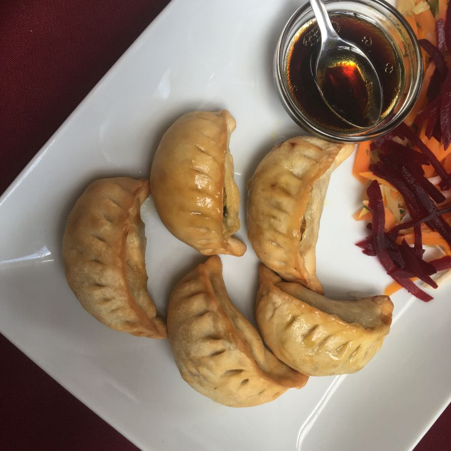 Momos, delicious steamed or fried