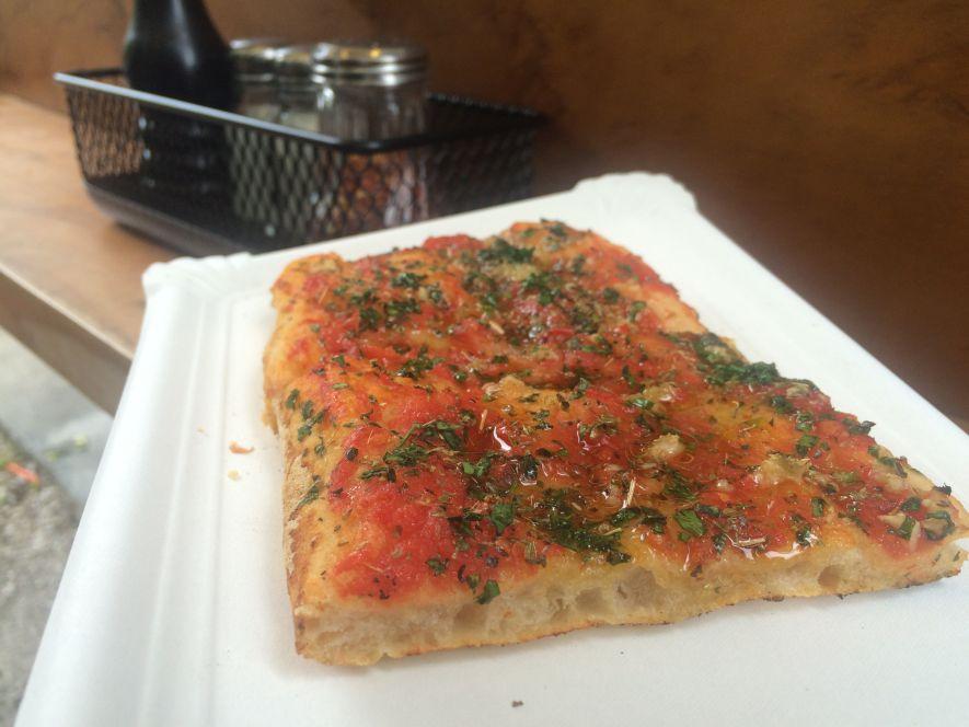 Pizza al taglio - vegan pizza Rome