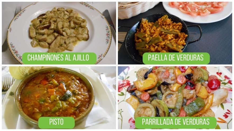 Vegan Main Dishes in Spain