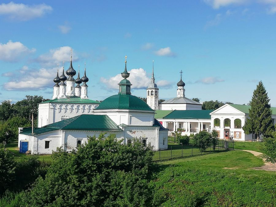 The Friday Church in Suzdal Russia