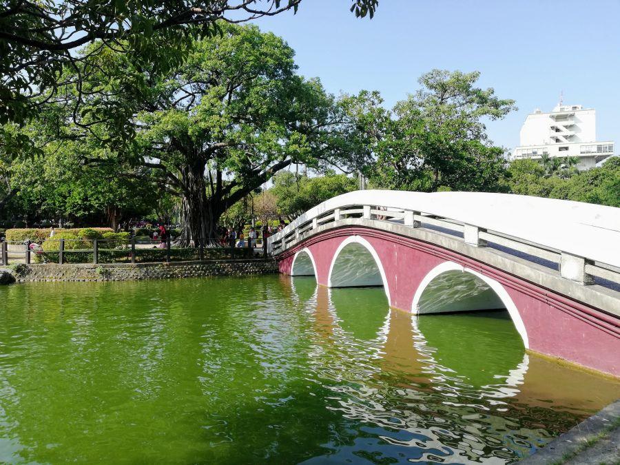 Sun Moon Lake inside Taichung Park