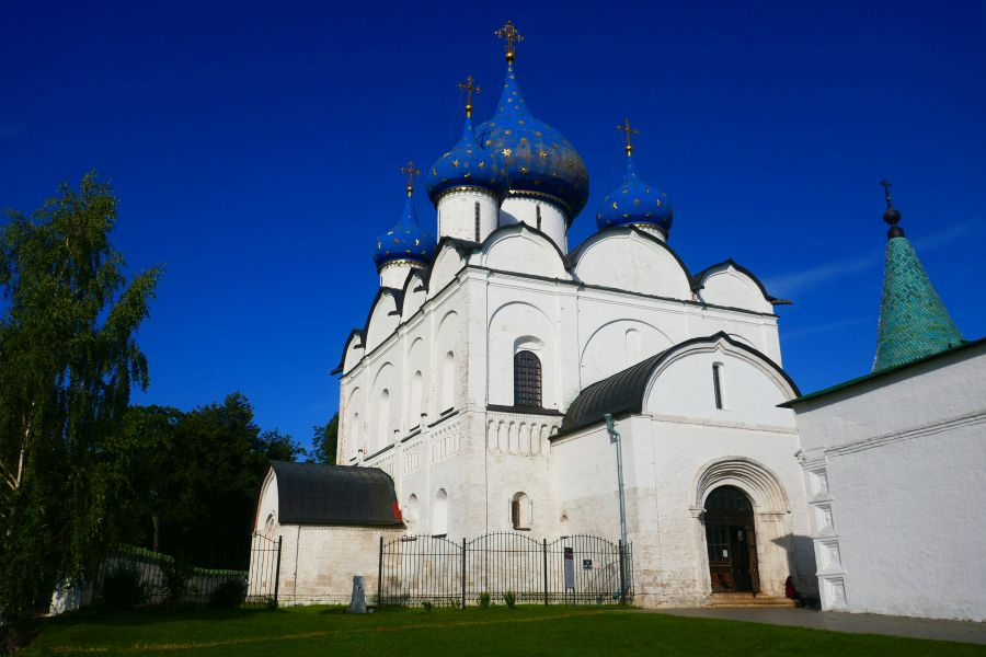 The Cathedral of the Nativity of the Virgin in the Suzdal Kremlin
