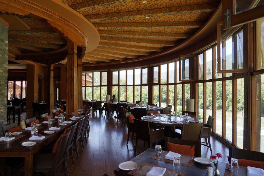 hotel restaurant Bhutan