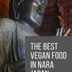 Vegan Food in Nara Japan