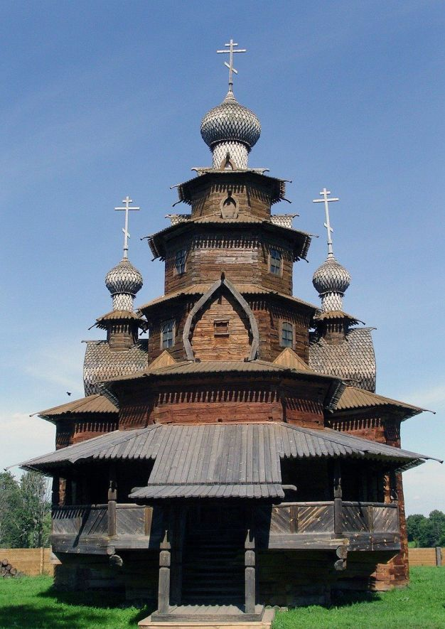 Wooden architecture in Suzdal