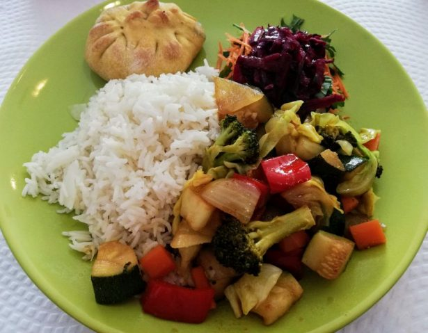cheap vegetarian meal