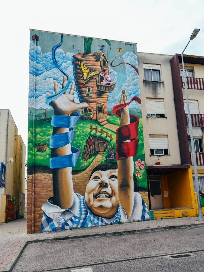 Styler mural in 2017