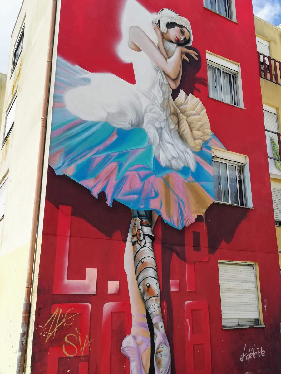 Street art in Lisbon Portugal