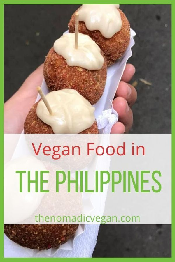 Vegan Philippines Food Guide