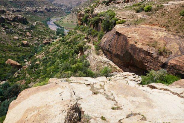 Lesotho hiking